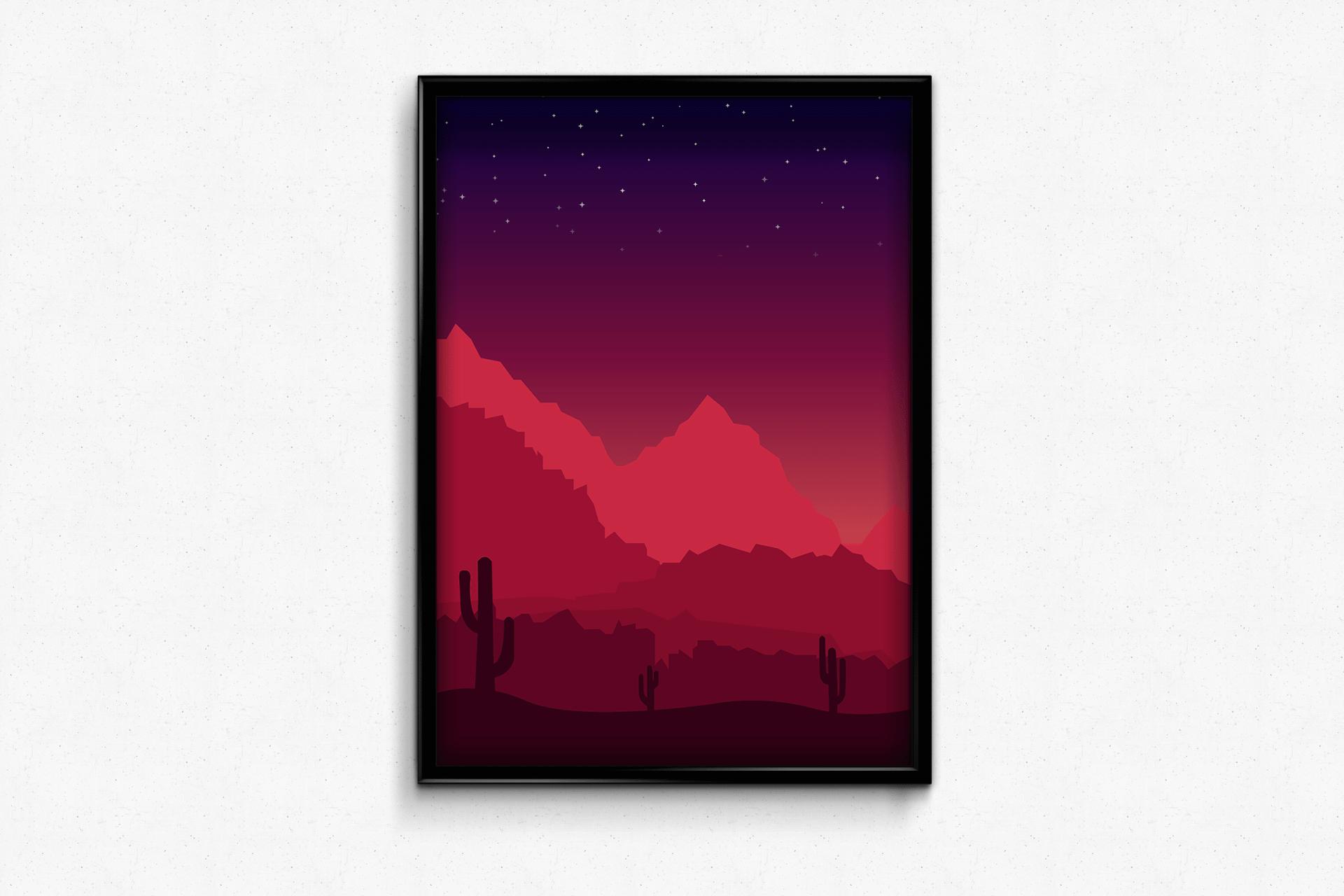 Mockup montagne